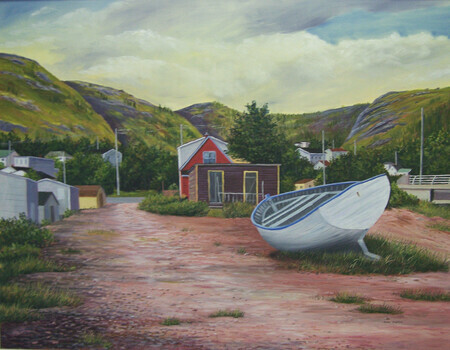 Skiff At Petty Harbour